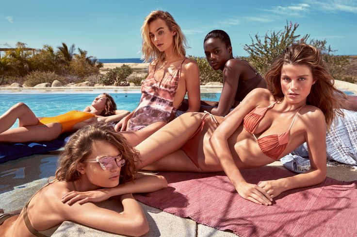 Capture the spirit of summer with thin-strap dresses, khaki shirts, animal prints, bright swimwear and simple-luxe accessories.