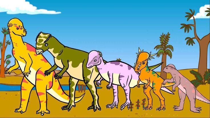 Le dictionnaire des dinosaure, La vie des dinosaures, Les Pachycéphalosaures, Genikids 4:29