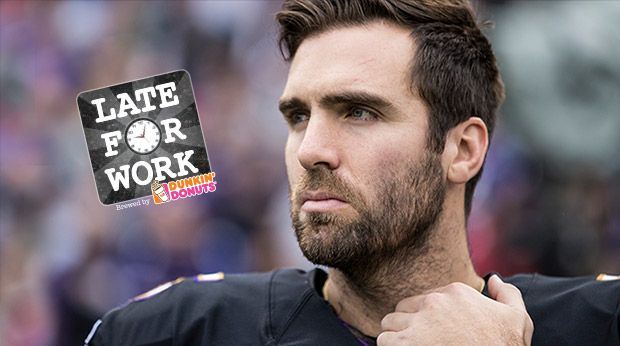 Late For Work : Joe Flacco Ranked Top First-Round Quarterback Of Past Decade