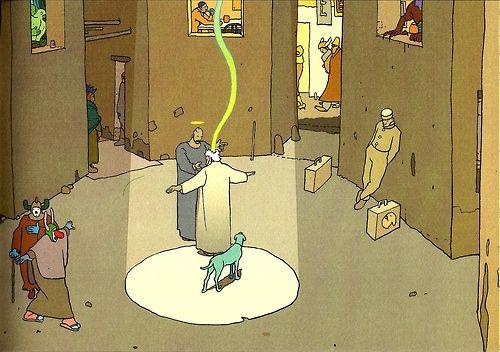 Ray of Light - Moebius
