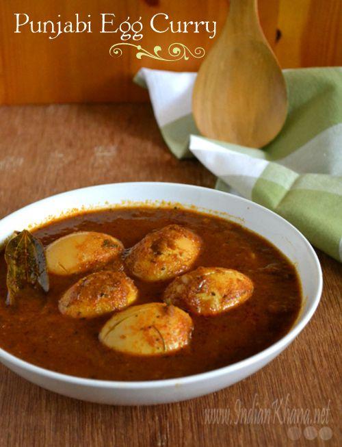 Punjabi Egg Masala   Anda Curry Recipe  Spicy Egg Curry made in Punjabi style..