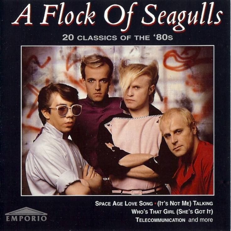 The 148 Best A Flock Of Seagulls Images On Pinterest