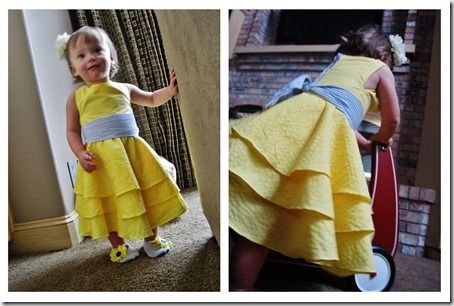 Sunny Little Miss Dress Tutorial | So You Think You're CraftySo You Think You're Crafty