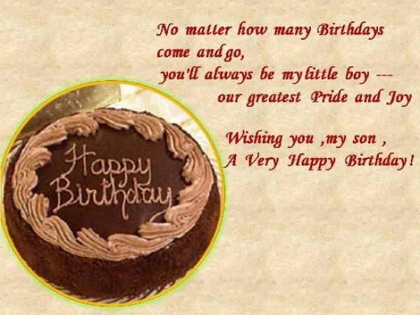 mother birthday quotes from son - photo #23