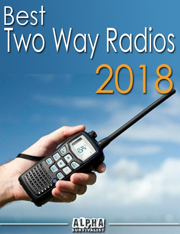 Check out the best consumer two way radios/walkie talkies