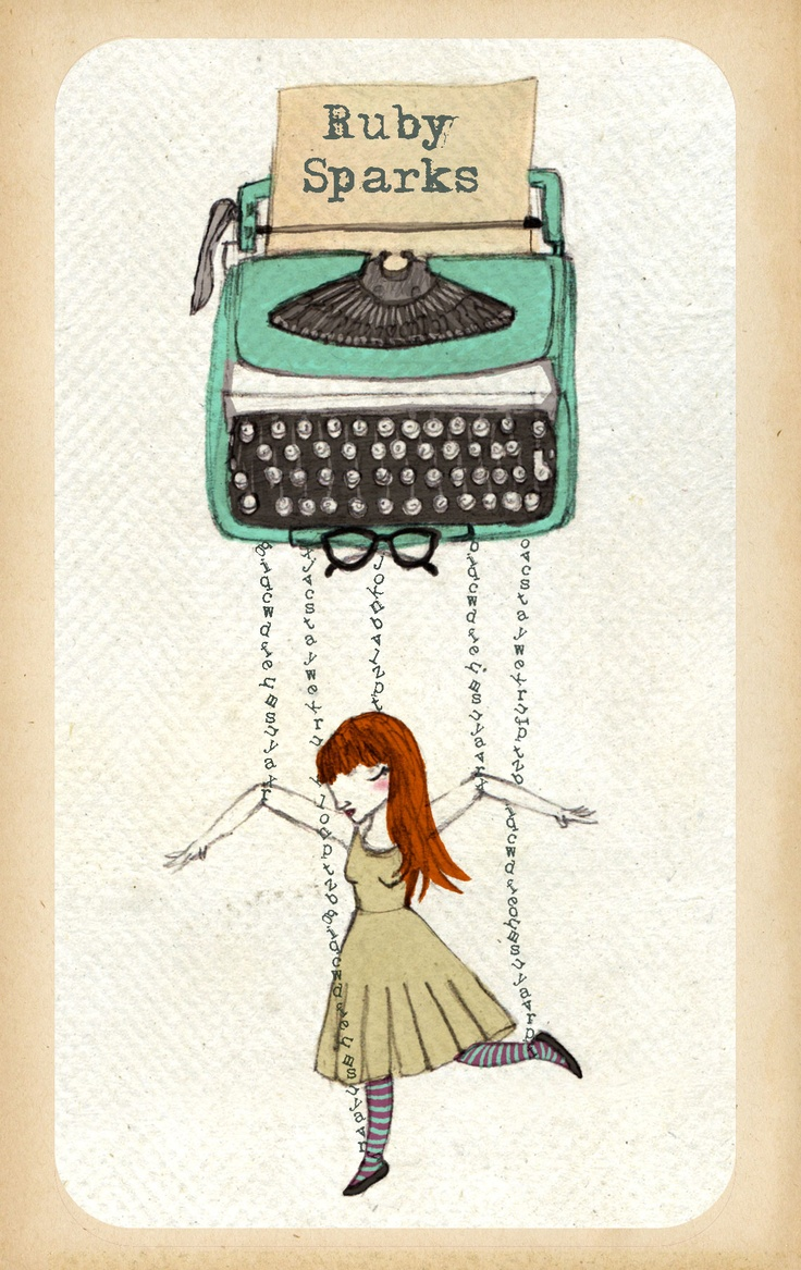 """poster """"Ruby Sparks"""" film                                                                                                                                                     More"""