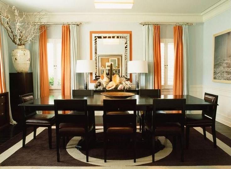 Die besten 25+ Orange curtains for the home Ideen auf Pinterest - wohnzimmer orange braun