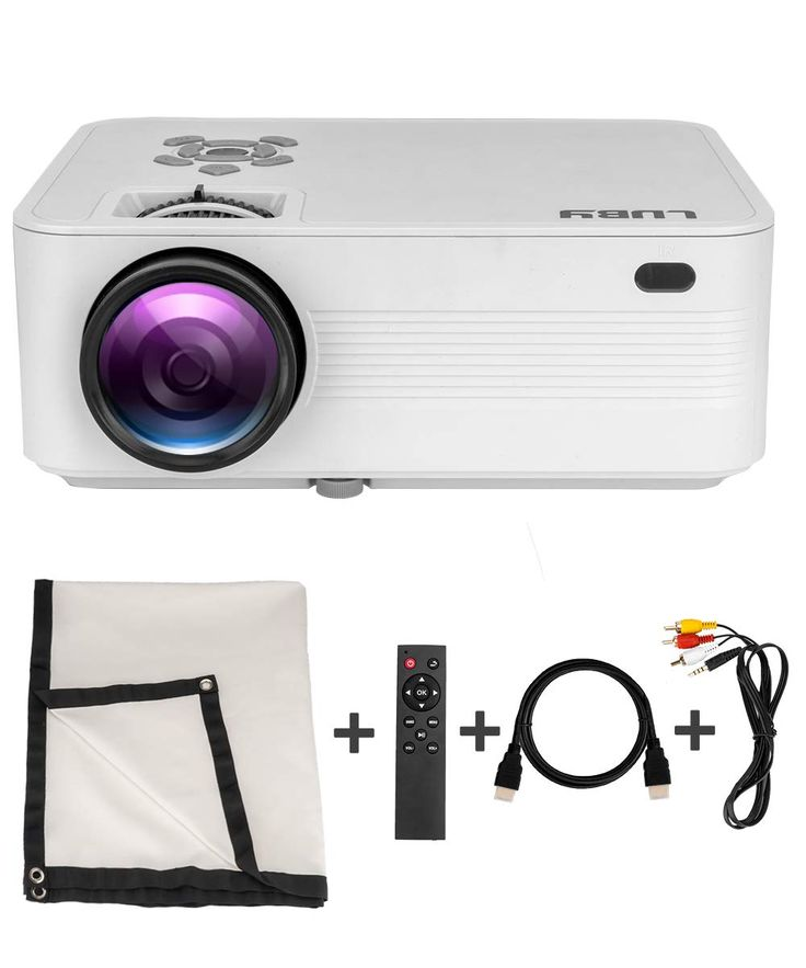 Luby portable mini movie projector 10