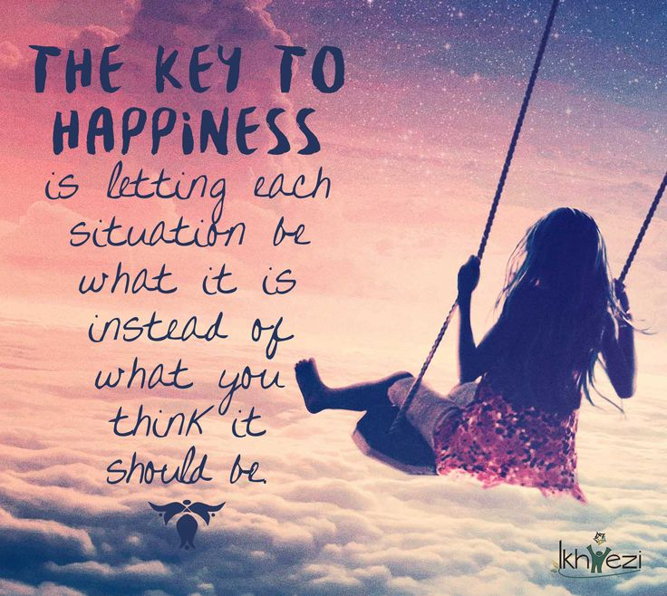 The key to happiness is letting each situation be what it is instead of what you think it should be. #happiness #keytohappiness #beliefs #selfbelief #expectations #purpose #life #lifejourney #ikhwezi #ikhweziteam #ikhweziguidance (scheduled via http://www.tailwindapp.com?utm_source=pinterest&utm_medium=twpin&utm_content=post25566618&utm_campaign=scheduler_attribution)