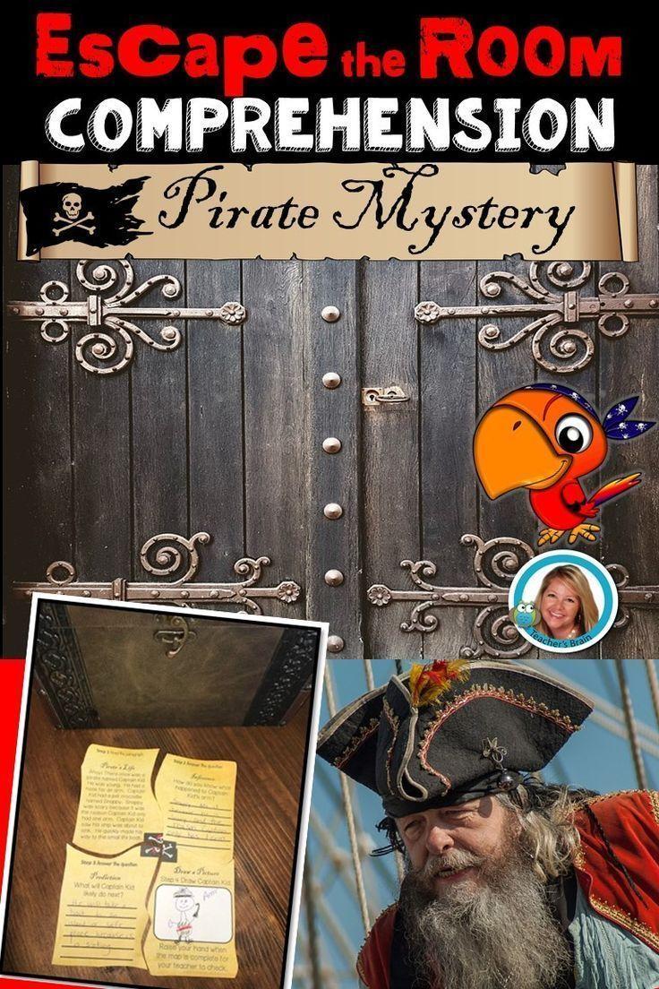 Pirate Themed Escape Room Teachers Pay Teachers