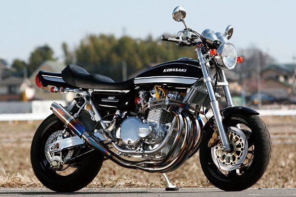 KAWASAKI Z1 from Bull Dock. Nicely done retro modern.