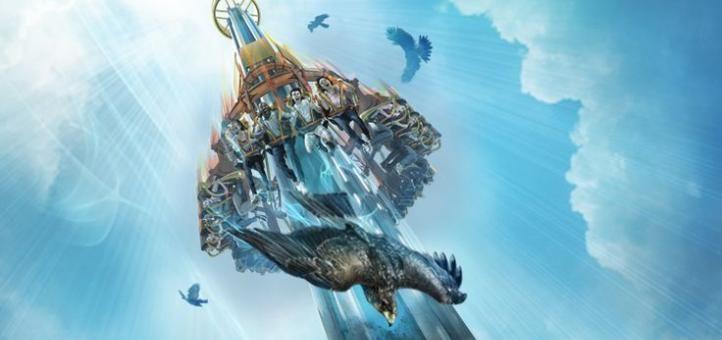 Falcon's Fury é o mais novo brinquedo do Busch Gardens