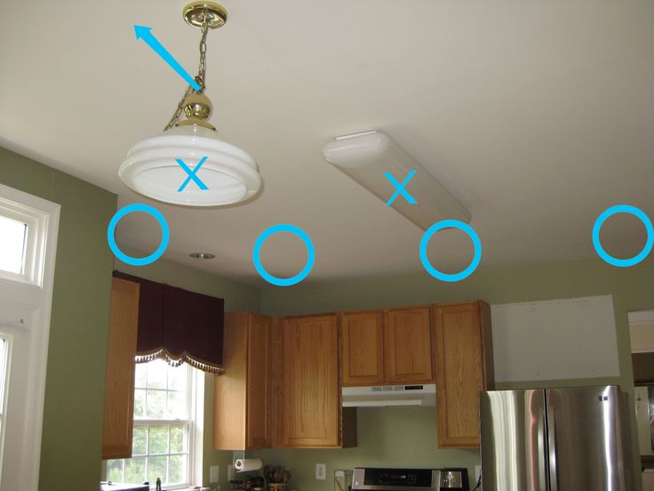 How To Install Can Lights   LOTS Of Links To Articles From Pros. Kitchen  Lighting