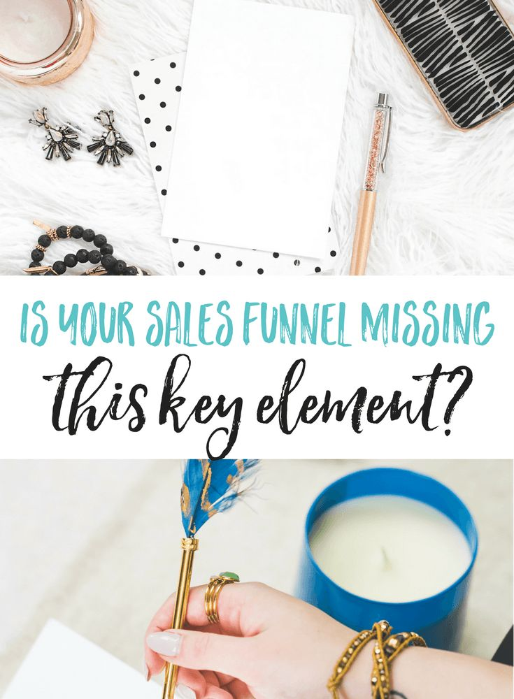 What's missing from your sales funnel? Are you doing everything right but still not getting the results you want? You could be missing this one key element.