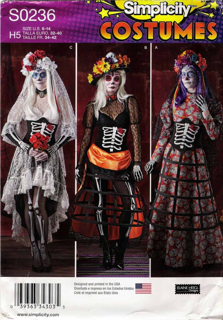 417 besten Halloween Costume Sewing Patterns Bilder auf Pinterest ...
