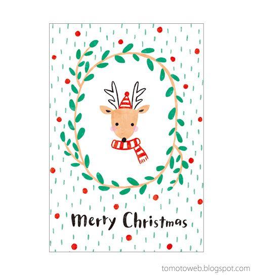 tomoto: Christmas card