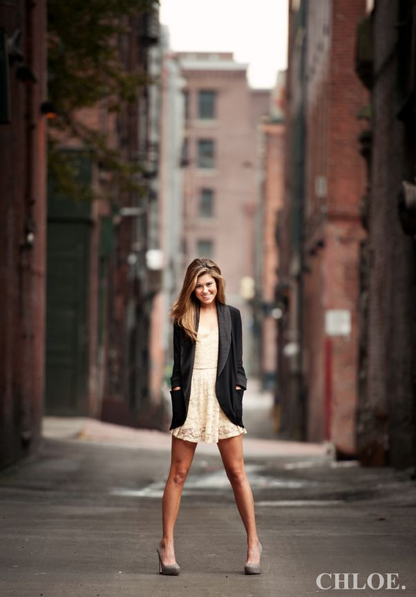 Senior portraits downtown in the city!
