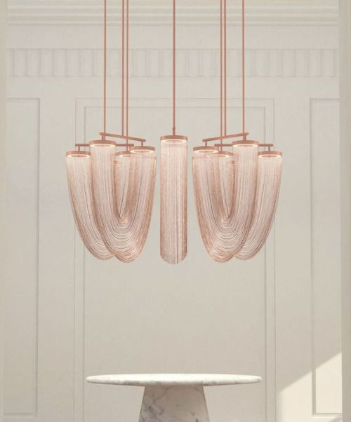 "thedpages: "" Otero Pendants - Small in copper 