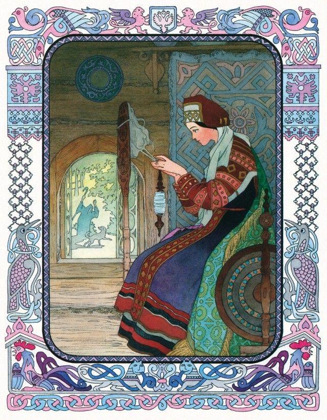 «Сказка о мертвой царевне и о семи богатырях», иллюстрации Вячеслава Назарука