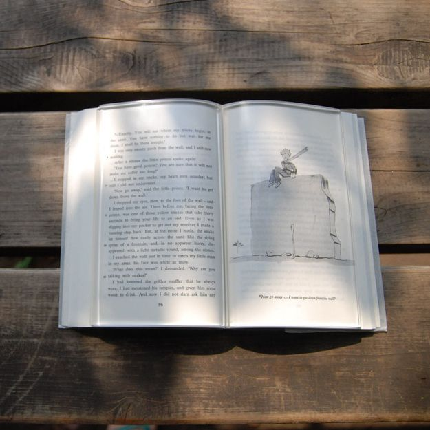 Sweat from tense palms gripping the pages too hard… | Here Is The Perfect Invention To Keep Your Tears From Ruining Your Favorite Books