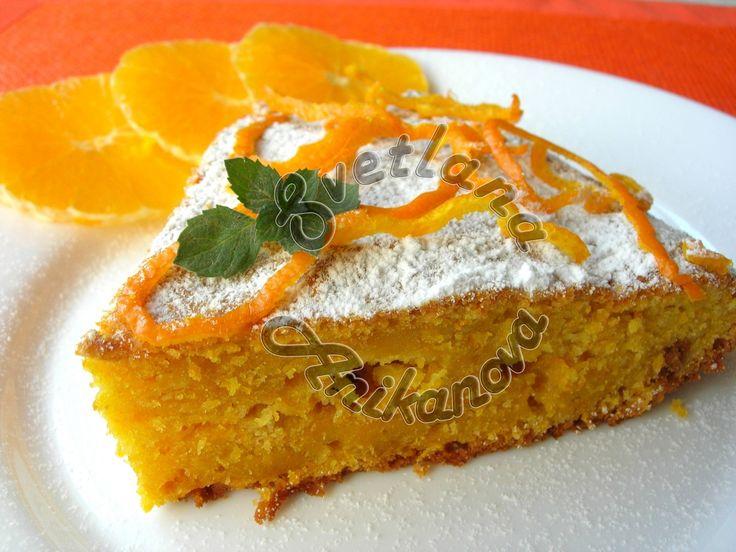 Этот рецепт пирога любимый у моих детей еще с их далекого детства. Пирог получается очень ярким, в меру влажным и безумно вкусным. Аромат от апельсина всегда стоит даже у соседей) Готовится такой пиро…