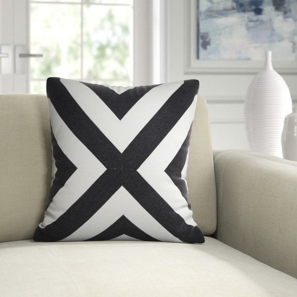 Down Geometric Throw Pillow Geometric Throw Pillows Throw Pillows Outdoor Throw Pillows