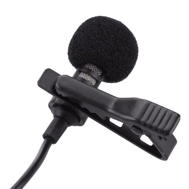 Studio Small Desktop 3.5mm For Laptop PC Black Plug Mini Mic Microphone