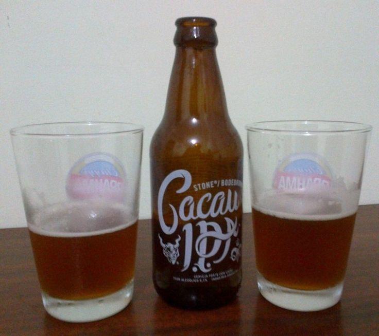 Cerveja Bodebrown / Stone Cacau IPA, estilo India Pale Ale (IPA), produzida por Cervejaria Bodebrown, Brasil. 6.1% ABV de álcool.