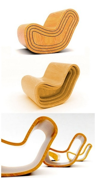 Puur Design Studio's Magic chair is an interesting update on the idea of stackable furniture; the four-chairs-in-one design has more in common with Russian nesting dolls than your average cafeteria stacking seats.