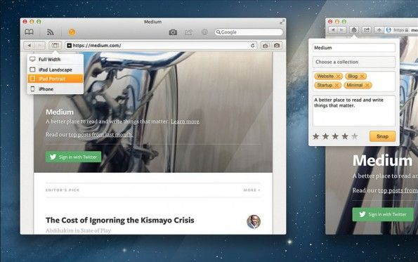 Screenshot-Tools: Ember ist ein hilfreiches Screenshot-Tool für Mac-Nutzer. (Screenshot: Ember)
