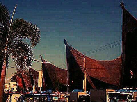 Traditional Market Lake Toba ( Danau Toba ), Sumatra Utara, Indonesia