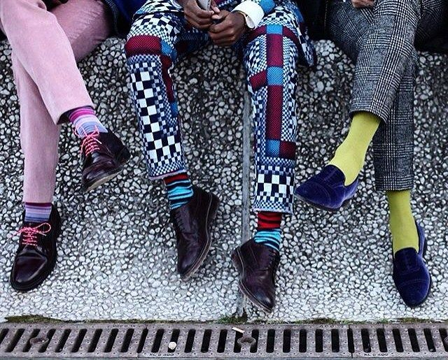 Stand out from the crowd... #CHULAAP #celebratingafrica #SAMW #prefall2016 Rp from @trevor_stuurman #pittiuomo89