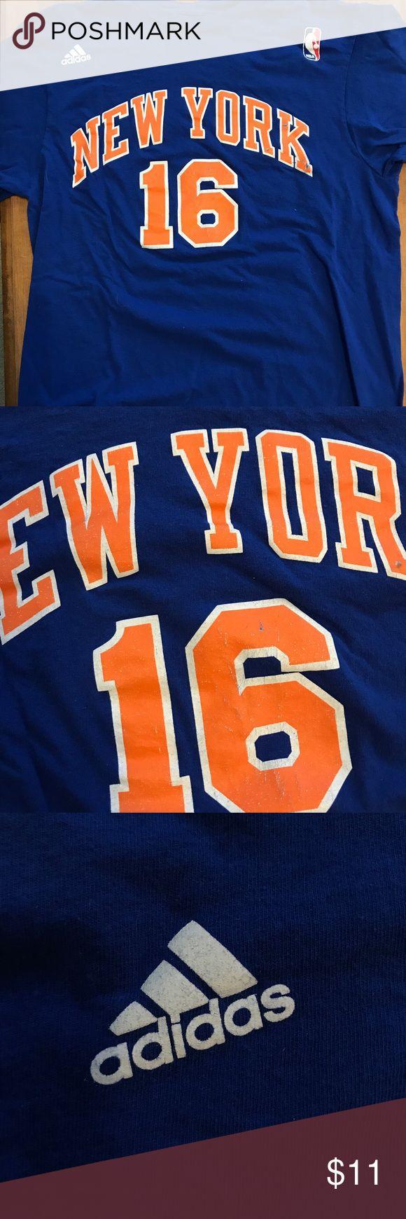 Steve Novak New York Knicks vintage t-shirt jersey Adidas Steve Novak vintage New York Knicks jersey, slight cracking in the letters with New York Knicks Symbol on the back. adidas Shirts Tees - Short Sleeve
