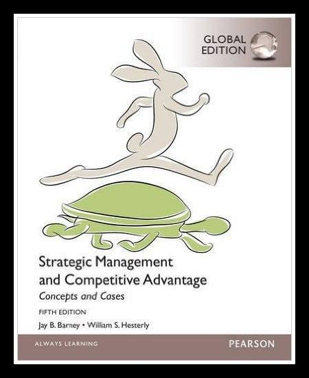 Jual beli Strategic Management and Competitive Advantage Concept and Cases 5th edition di Lapak Adija Saja - ajeng975. Menjual Import - Strategic Management and Competitive Advantage Concept and Cases 5th edition By, Barney  Product Details Paperback Publisher: Pearson Education Limited; Global ed of 5th revised ed edition  Language: English ISBN-10: 1292060085 ISBN-13: 978-1292060088 Product Dimensions: 8 x 0.8 x 10 inches