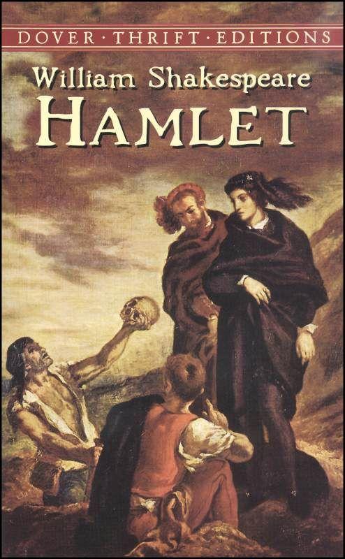 shakespeare's works: Worth Reading, William Shakespeare, Dover Thrift, Favorite Shakespeare, Books Worth, Favorite Book, Eugene Delacroix, Hamlet Dover