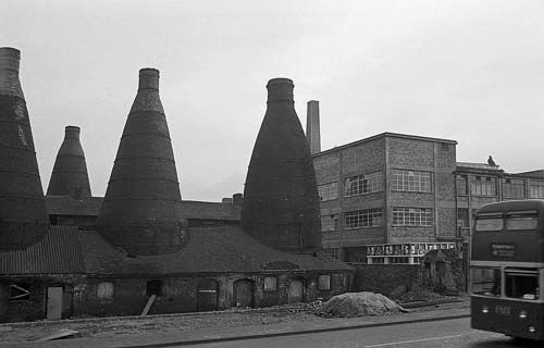 Minton's pottery, London Road, Stoke-on-Trent