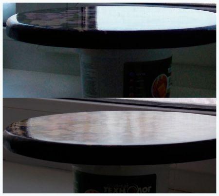 После 5 или 6 шлифовки  надо добиваться, что бы после шлифовки поверхность была абсолютно однородная матовая, без проблесков