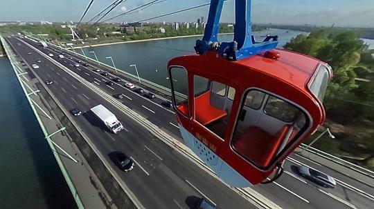 360-Grad-Panorama-Bild: In den Lüften mit der Kölner Seilbahn