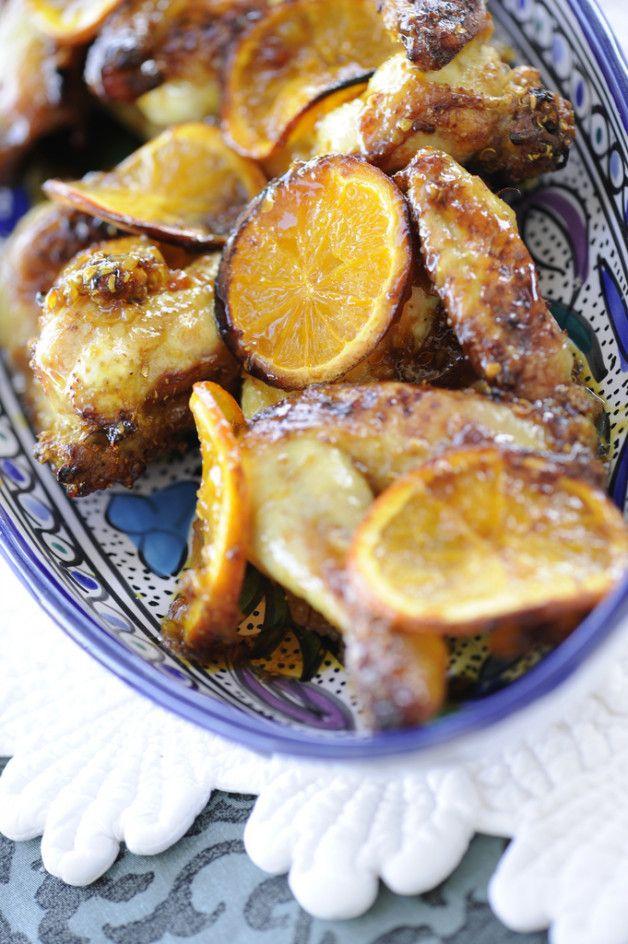 Алина курица с апельсинами