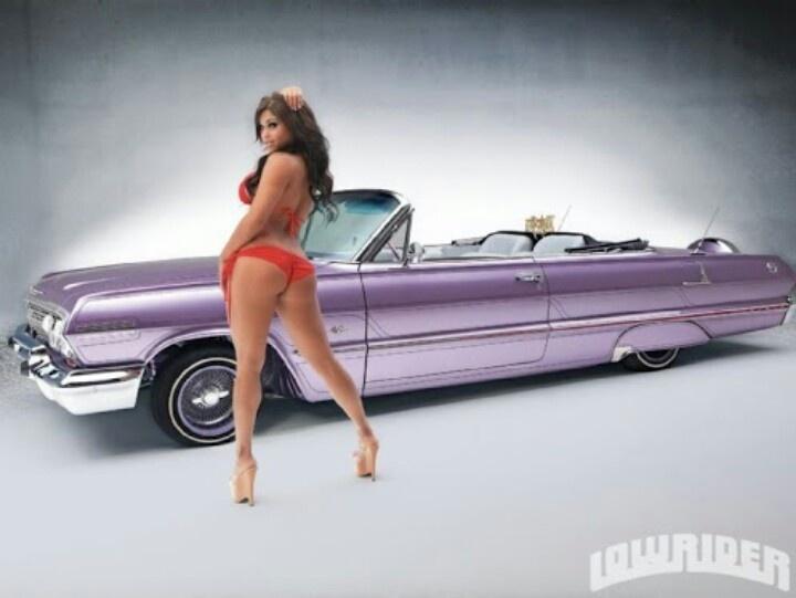 Pin Up Girls  Cars