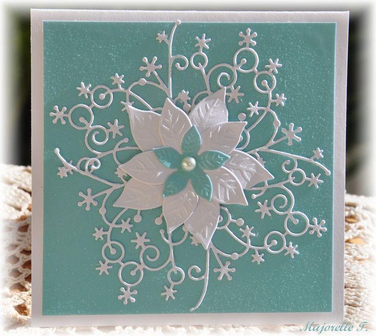 Memory Box Snowflake corner + cards - Google Search