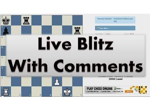 Blitz Chess #2059 with Live Comments Queens Gambit Accepted vs IM Jugulator with White - http://chesshq.net/blitz-chess-2059-with-live-comments-queens-gambit-accepted-vs-im-jugulator-with-white/