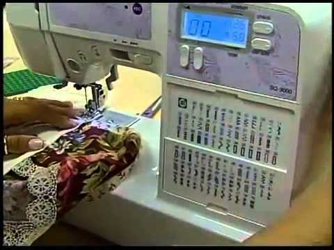 Programa Arte Brasil - 17/03/2014 - Elizandra Sobral - Toalha para Lavabo sem Costura Aparente - YouTube