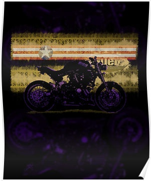 modified buell 1200  - custom illustrated posters, prints, tees. Unique bespoke designs by dennis william gaylor .:: watersoluble ::.