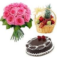 send flowers to India and worldwide: Birthday Flower delivery online from Canada to Pun...