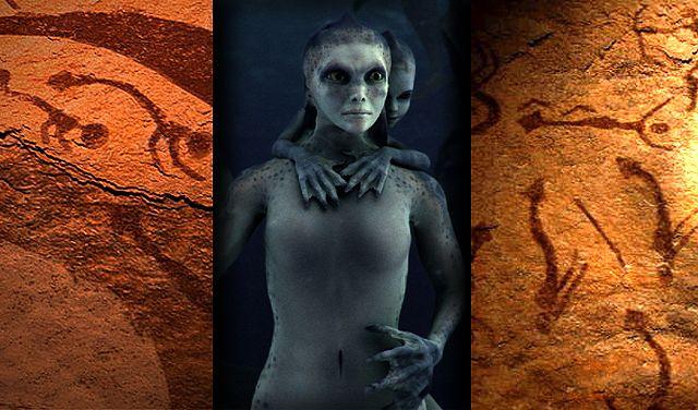 DLE: Pinturas rupestres de Sirenas ¿realidad o mito?