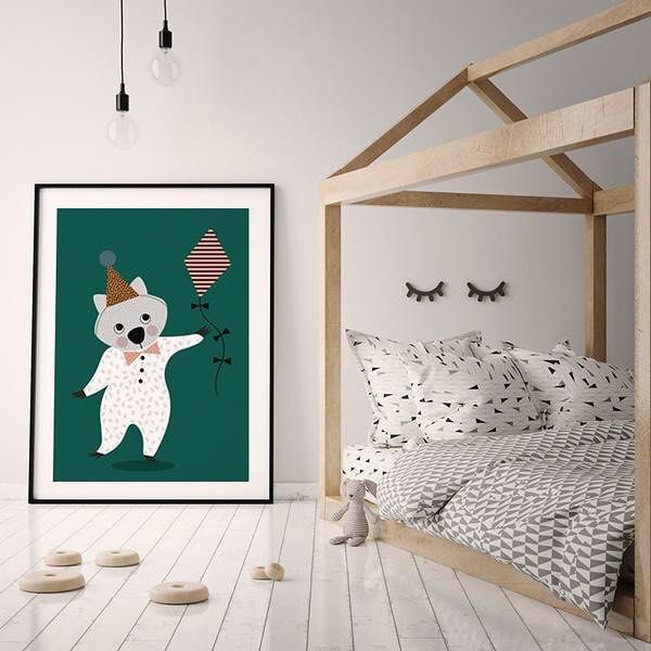 Today you are you! That is truer than true! There is no one alive who is you-er than you! - Dr Seuss. Wombat Kite Poster online now $59 shop link in bio.
