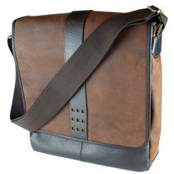 Canyon Trail iPad/Tablet Messenger by Dilana™ #travel #leather #tablet #slingpack #messenger