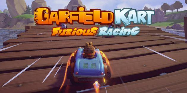 "Resultado de imagen de garfield cat furious racing"""