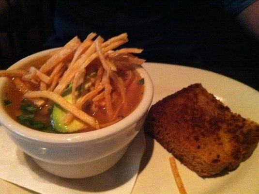 Chicken Hominy Soup from Lucky's Restaurant in Tulsa! Must Go There!!!